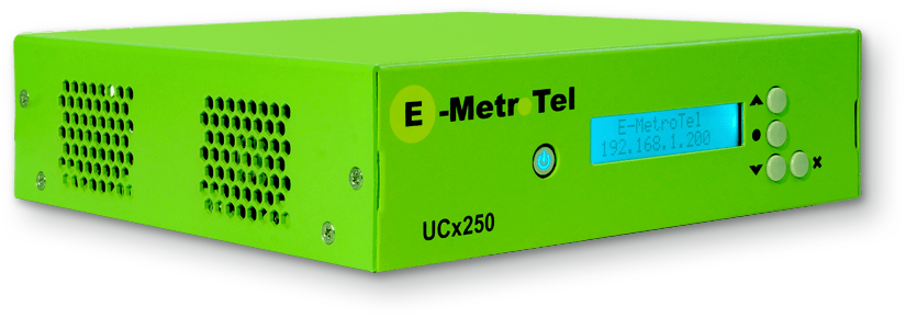 E-MetroTel IP PBX UCx250 Phone System